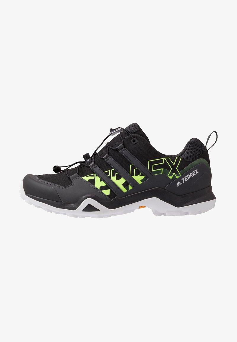 adidas Performance - TERREX SWIFT R2 - Obuwie hikingowe - core black/signal green