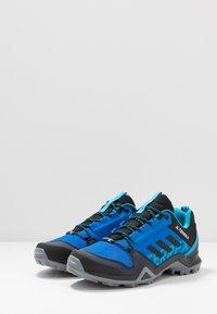 adidas Performance - TERREX AX3 - Scarpa da hiking - glow blue/legend ink/shock cyan - 2