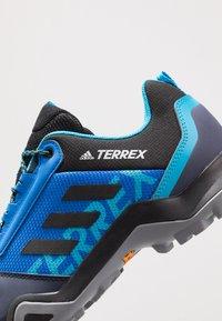 adidas Performance - TERREX AX3 - Scarpa da hiking - glow blue/legend ink/shock cyan - 5