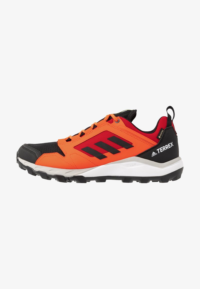 adidas Performance - TERREX AGRAVIC GORE-TEX TRAIL RUNNING SHOES - Trail running shoes - solar red/core black/grey two