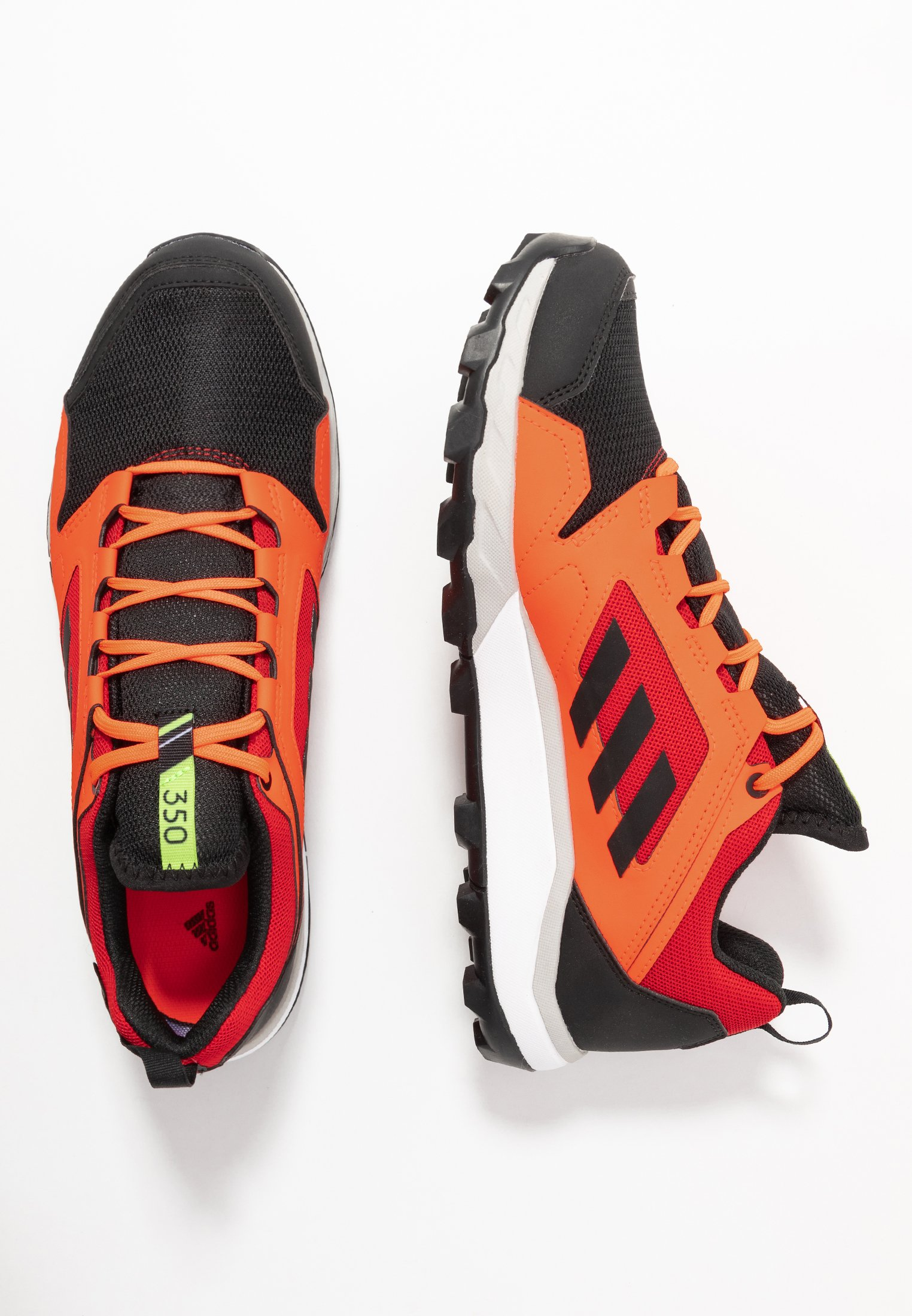 adidas Performance TERREX AGRAVIC TR GORE-TEX - Chaussures de running - solar red/core black/grey two