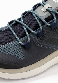 adidas Performance - TERREX FOLGIAN HIKER - Hiking shoes - legend blue/core black/raw dessert - 5
