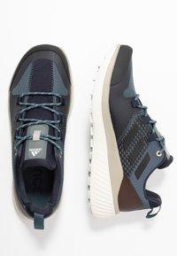 adidas Performance - TERREX FOLGIAN HIKER - Hiking shoes - legend blue/core black/raw dessert - 1