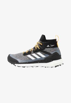 TERREX FREE PARLEY - Hiking shoes - core black/footwear white/solar gold