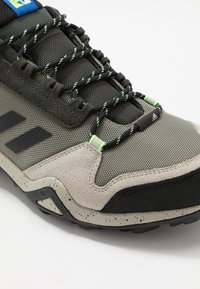 adidas Performance - TERREX AX3 - Hiking shoes - legend green/core black/glow blue - 5