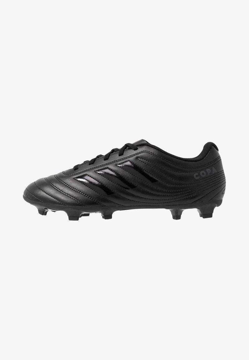 adidas Performance - COPA 20.4 FG - Voetbalschoenen met kunststof noppen - core black/dough solid grey