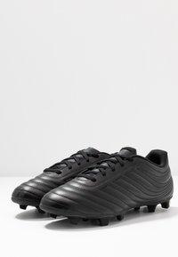 adidas Performance - COPA 20.4 FG - Botas de fútbol con tacos - core black/dough solid grey - 2