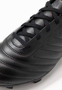 adidas Performance - COPA 20.4 FG - Voetbalschoenen met kunststof noppen - core black/dough solid grey - 5