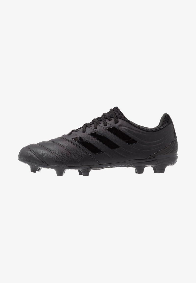 adidas Performance - COPA 20.3 FG - Botas de fútbol con tacos - core black/grey