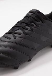 adidas Performance - COPA 20.3 FG - Botas de fútbol con tacos - core black/grey - 5