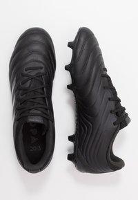 adidas Performance - COPA 20.3 FG - Botas de fútbol con tacos - core black/grey - 1