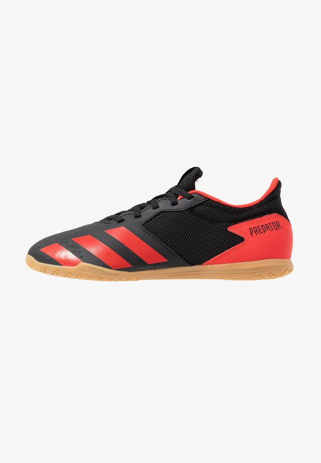 PREDATOR 20.4 IN SALA - Fußballschuh Halle - core black/active red