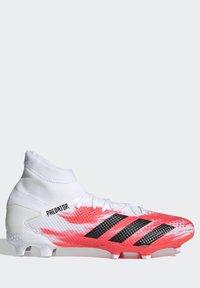 adidas Performance - PREDATOR 20.3 FG - Voetbalschoenen met kunststof noppen - ftwwht/cblack/pop - 8