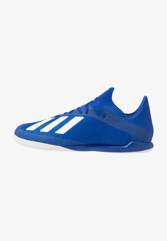 X 19.3 IN - Zaalvoetbalschoenen - royal blue/footwear white/core black
