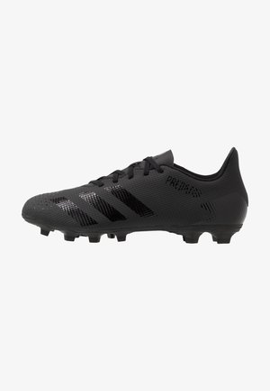 PREDATOR 20.4 FXG - Chaussures de foot à crampons - core black/dough solid grey