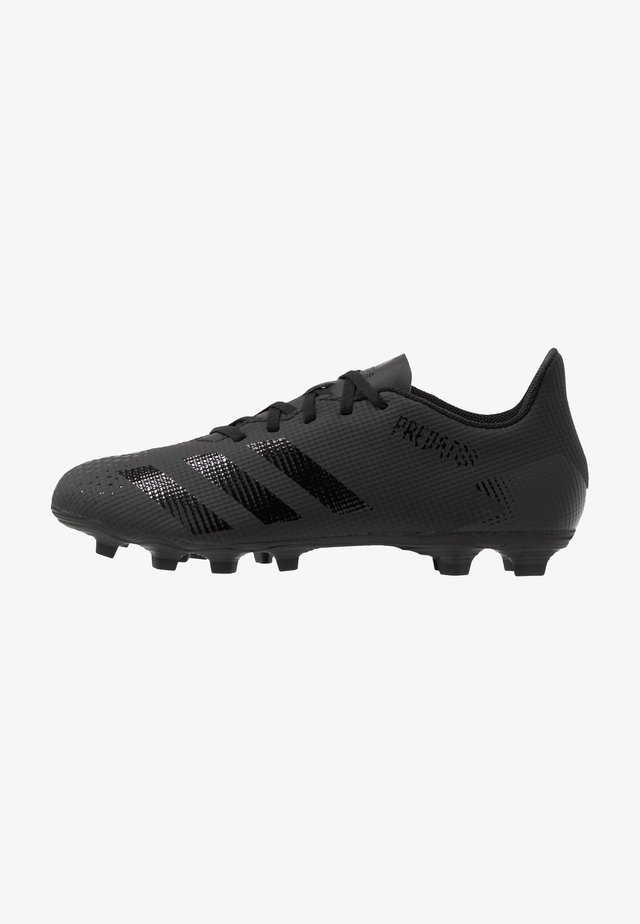 PREDATOR 20.4 FXG - Moulded stud football boots - core black/dough solid grey