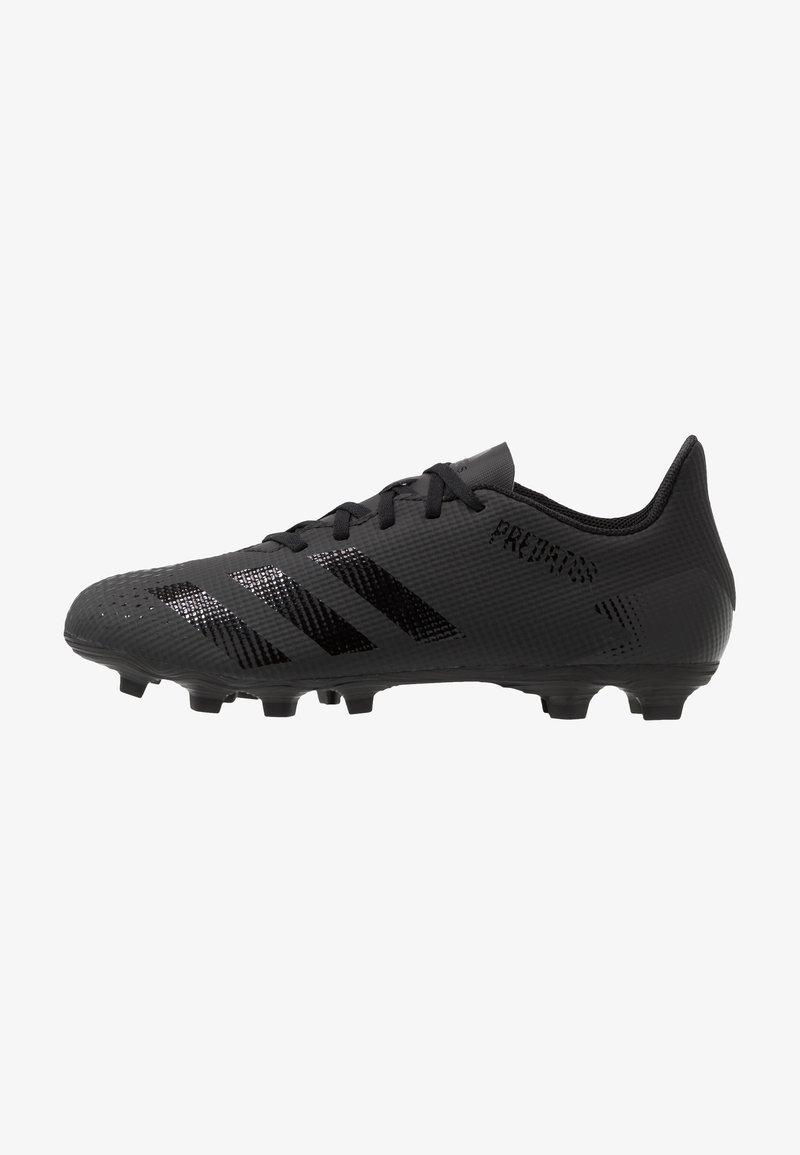 adidas Performance - PREDATOR 20.4 FXG - Voetbalschoenen met kunststof noppen - core black/dough solid grey
