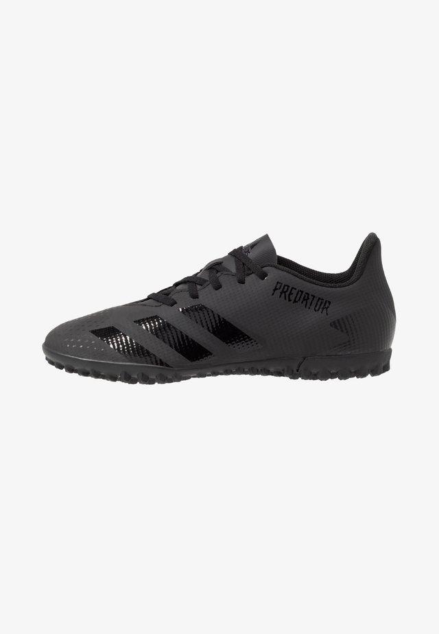 PREDATOR 20.4 TF - Voetbalschoenen voor kunstgras - core black/dough solid grey