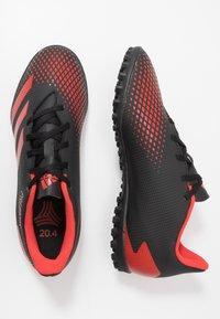 adidas Performance - PREDATOR 20.4 TF - Kopačky na umělý trávník - core black/active red - 1