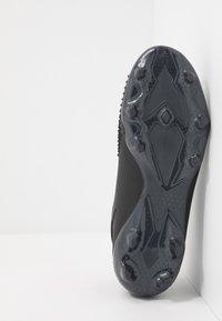 adidas Performance - PREDATOR 20.2 FG - Voetbalschoenen met kunststof noppen - core black/dough solid grey - 4