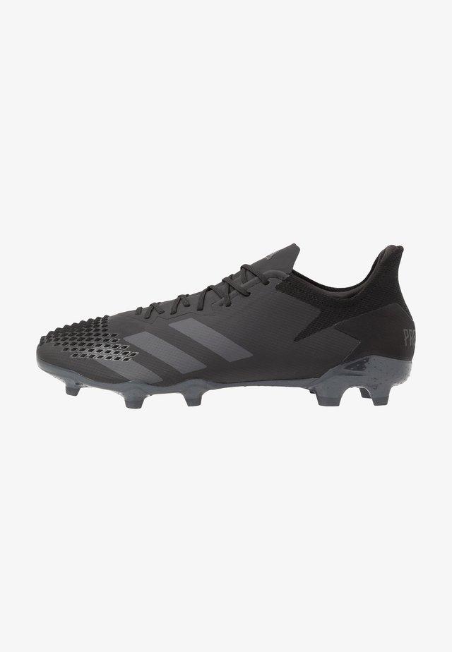 PREDATOR 20.2 FG - Voetbalschoenen met kunststof noppen - core black/dough solid grey