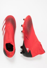 adidas Performance - PREDATOR 20.3 LL FG - Voetbalschoenen met kunststof noppen - active red/footwear white/core black - 1