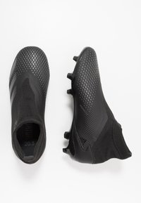 adidas Performance - PREDATOR 20.3 LL FG - Voetbalschoenen met kunststof noppen - core black/dough solid grey - 1