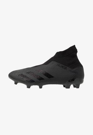 PREDATOR 20.3 LL FG - Voetbalschoenen met kunststof noppen - core black/dough solid grey