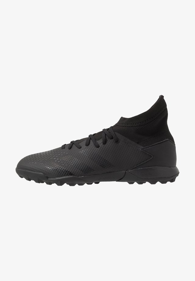 PREDATOR 20.3 TF - Voetbalschoenen voor kunstgras - core black/dough solid grey