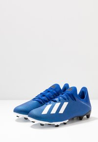 adidas Performance - X 19.3 FG - Botas de fútbol con tacos - royal blue/footwear white/core black - 2