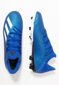 adidas Performance - X 19.3 FG - Botas de fútbol con tacos - royal blue/footwear white/core black - 1