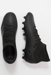 adidas Performance - PREDATOR 20.3 MG - Botas de fútbol con tacos - core black/dough solid grey - 1
