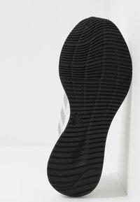 adidas Performance - EDGE FLEX - Neutral running shoes - footwear white/silver metallic/grey one - 4