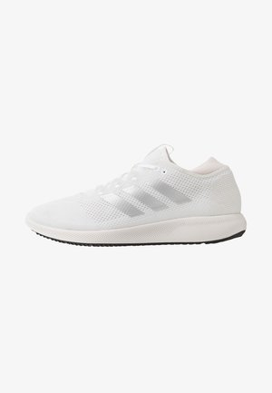 EDGE FLEX - Neutral running shoes - footwear white/silver metallic/grey one