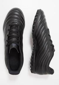 adidas Performance - COPA 20.4 TF - Korki Turfy - core black/solid grey - 1