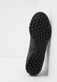 adidas Performance - COPA 20.4 TF - Korki Turfy - core black/solid grey - 4
