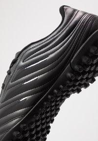 adidas Performance - COPA 20.4 TF - Korki Turfy - core black/solid grey - 5