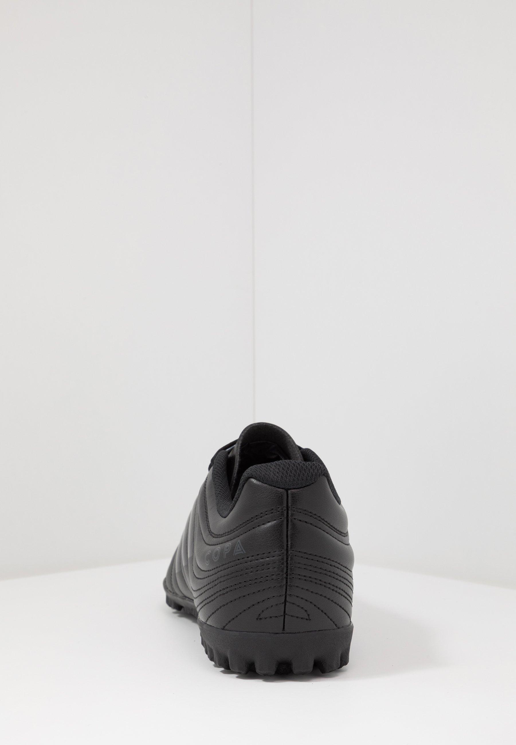 adidas Performance COPA 20.4 TF - Scarpe da calcetto con tacchetti - core black/solid grey rl0e12Ue
