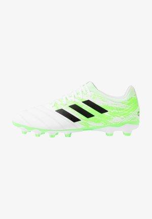COPA 20.3 MG - Kopačky lisovky - footwear white/core black/signal green