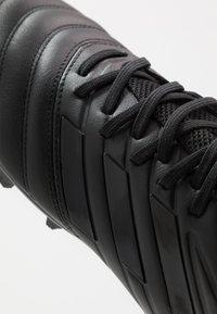 adidas Performance - COPA 20.3 MG - Voetbalschoenen met kunststof noppen - core black/solid grey - 5