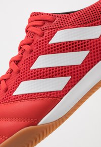 adidas Performance - COPA 20.3 IN SALA - Halówki - action red/footwear white/core black - 5