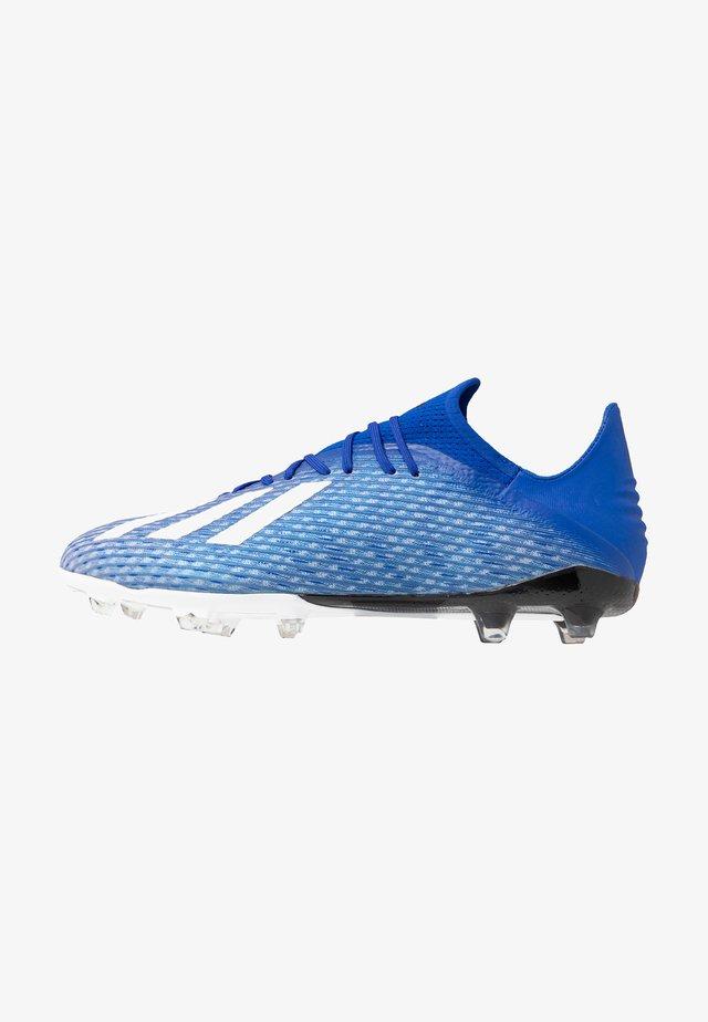 X 19.2 FG - Voetbalschoenen met kunststof noppen - royal blue/footwear white/core black