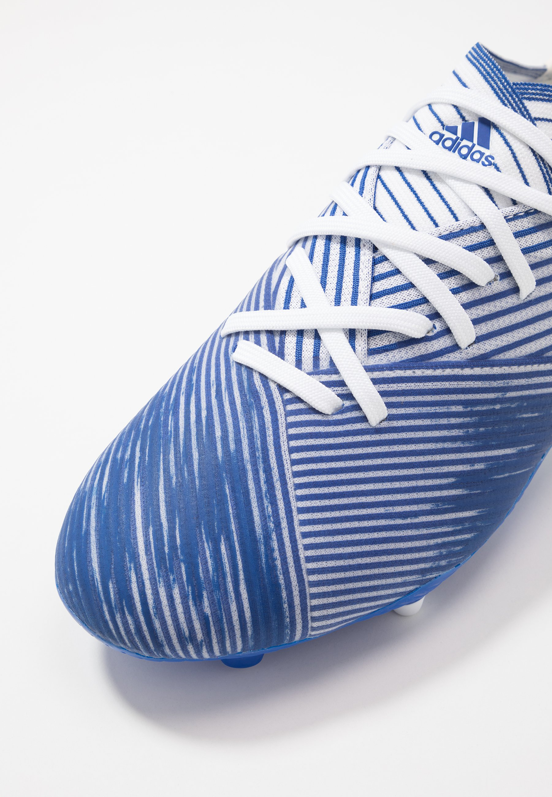 Adidas Performance Nemeziz 19.2 Fg - Fotbollsskor Fasta Dobbar Footwear White/royal Blue bmmwKal