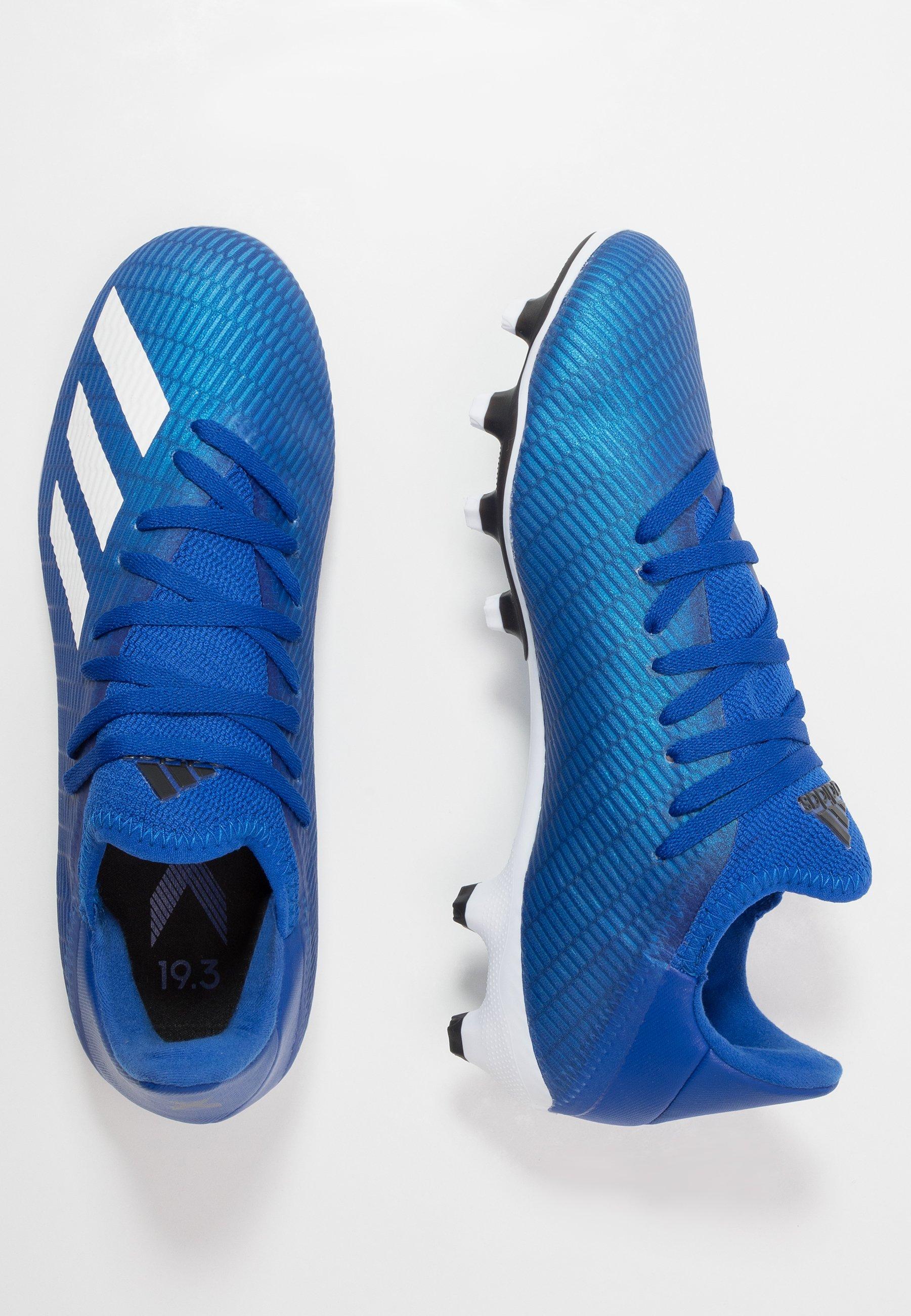 Adidas Performance X 19.3 Mg - Scarpe Da Calcetto Con Tacchetti Royal Blue/footwear White/core Black G00r2