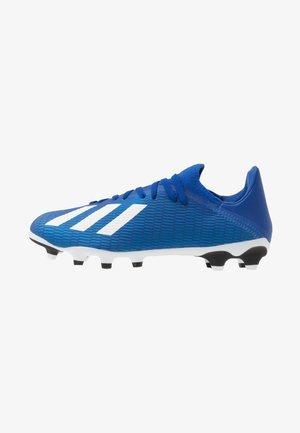 X 19.3 MG - Voetbalschoenen met kunststof noppen - royal blue/footwear white/core black