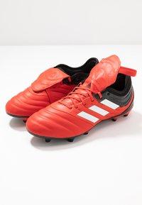 adidas Performance - COPA GLORO 20.2 FG - Voetbalschoenen met kunststof noppen - active red/footwear white/core black - 5