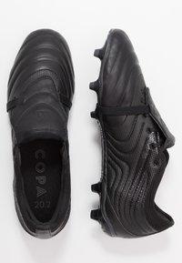 adidas Performance - COPA GLORO 20.2 FG - Botas de fútbol con tacos - core black/dough solid grey - 1