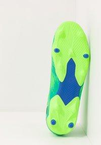 adidas Performance - NEMEZIZ 19.3 FG - Chaussures de foot à crampons - signal green/core black/royal blue - 4