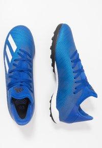 adidas Performance - X 19.3 TF - Korki Turfy - royal blue/footwear white/core black - 1