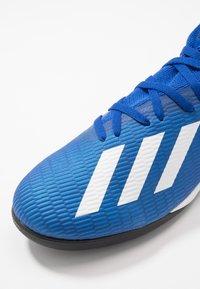 adidas Performance - X 19.3 TF - Korki Turfy - royal blue/footwear white/core black - 5